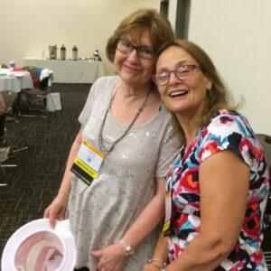 ILA 2015 Carol and Dianne