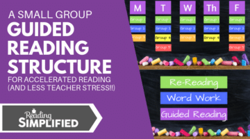A Small Group Guided Reading Structure