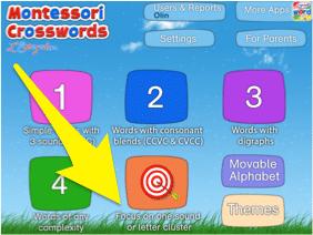 Montessori_Crosswords_focus on one