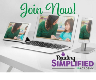 Join the Reading Simplified Academy.