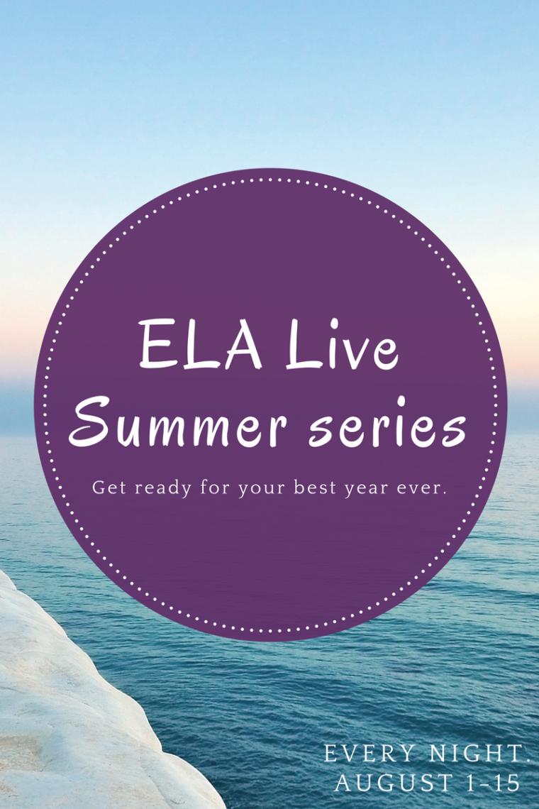 ELA live 15 days of PD on FB