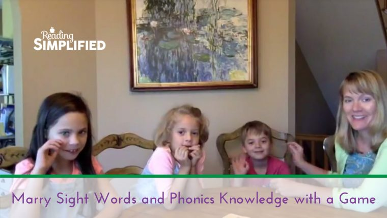 game sight words phonics