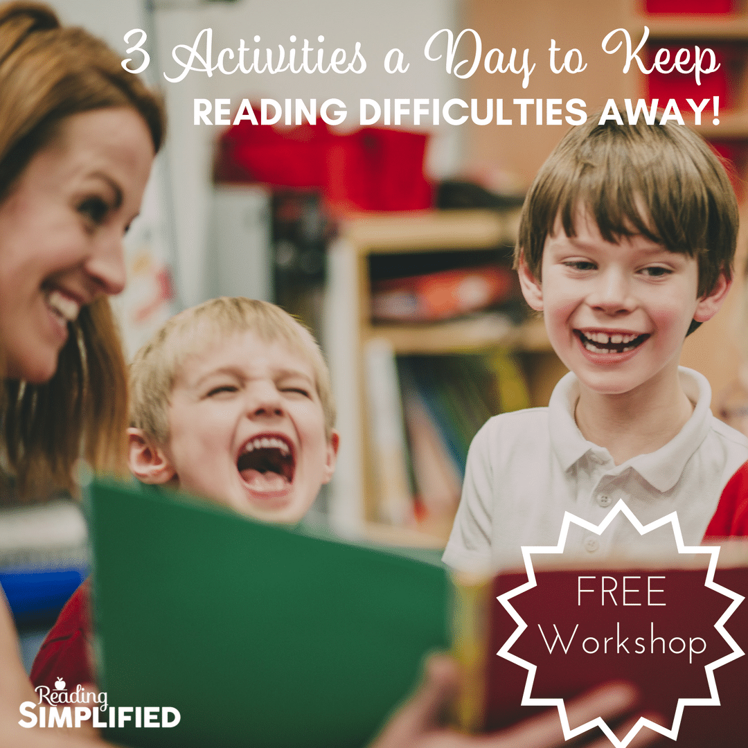 3 activities a day to keep reading difficulties away