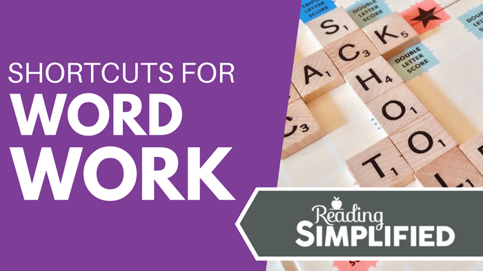 Shortcuts for Word Work
