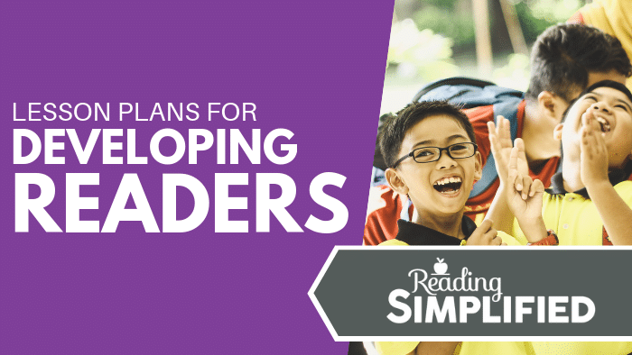 Lesson Plans for Developing Readers