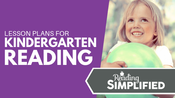 Lesson Plans for Kindergarten Reading