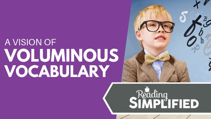 A Vision of Voluminous Vocabulary