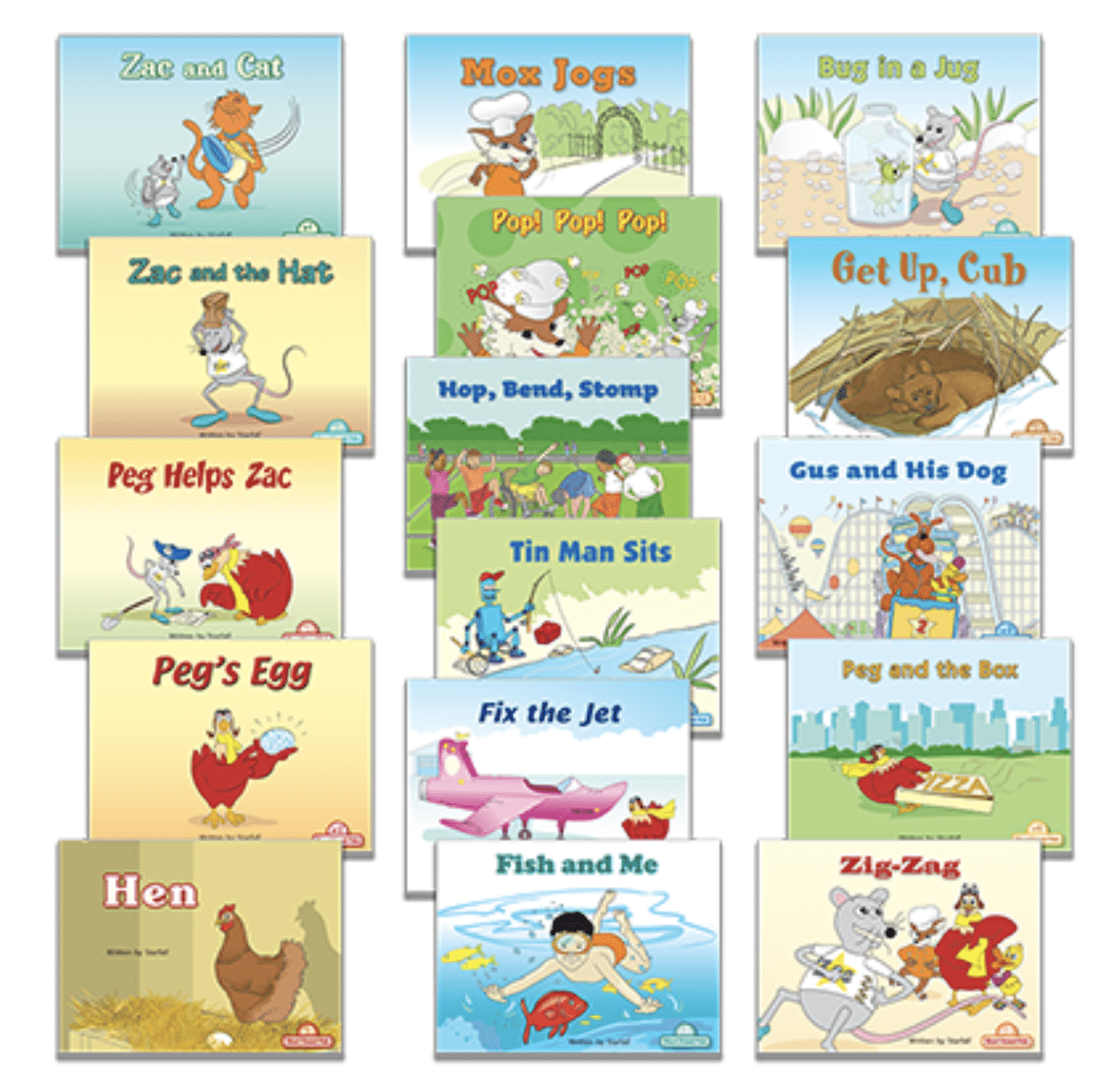 Decodable Texts Booklist