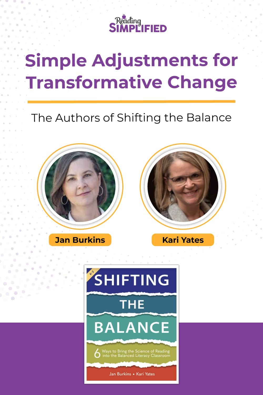 Shifting the Balance book pin