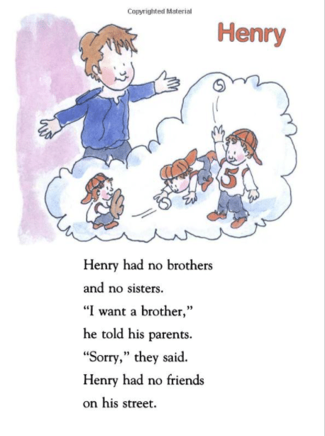 Henry and Mudge book interior page