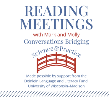 Reading Meetings with Mark Seidenberg and Molly Farry-Thorn logo